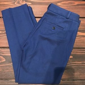 Banana Republic blue herringbone Avery pant